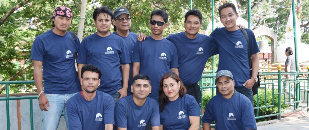 Parass et notre équipe de agence de voyage locale au Népal