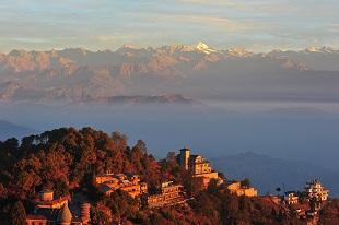 Nagarkot vue sur les Annapurnas
