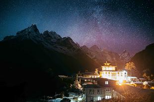 Himalaya durant circuit Annapurna et Terai