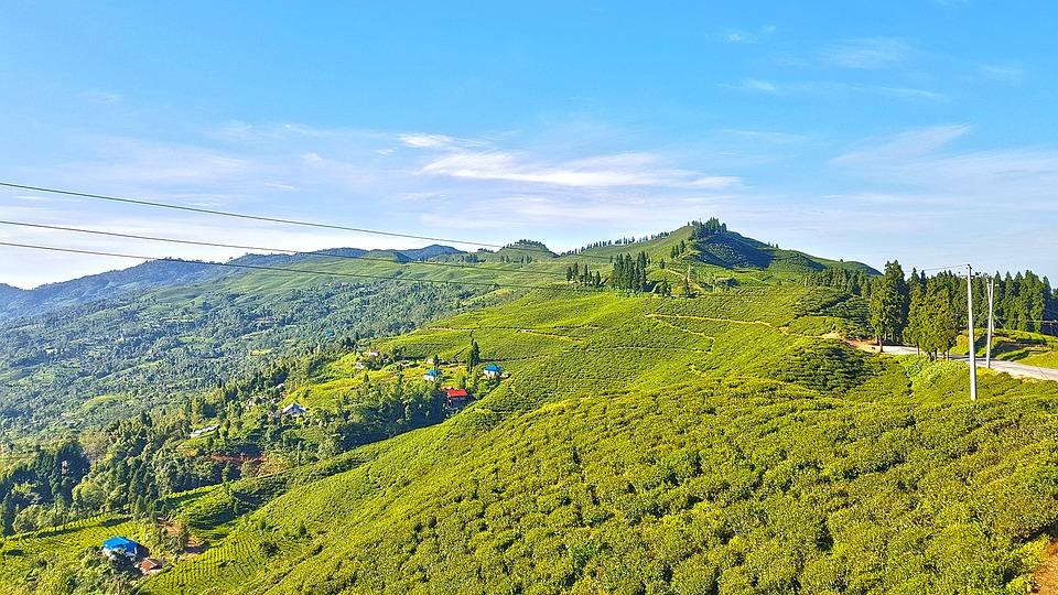 Himalaya au Népal un jour ensoleillé